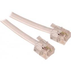 Cable telefonico RJ11 / RJ11
