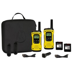 Pack de 2 unidades Walkie Talkies Motorola T92H2O , PMR446