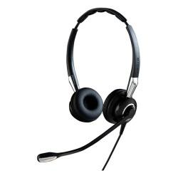 Auricular Jabra BIZ 2400 II Duo brazo flex micro con cancelador de ruido