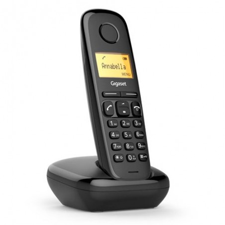Telefono inalambrico dect Gigaset A170 Negro