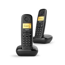 Telefono inalambrico dect Gigaset A170 Duo Negro