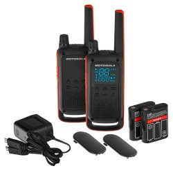 Pack de 2 Walkie Talkies Motorola T82 , PMR446 ,