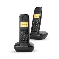 Telefono inalambrico dect Gigaset A270 Duo Negro
