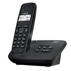 Telefono inalambrico dect Gigaset AL117 Negro ( Con contestador )