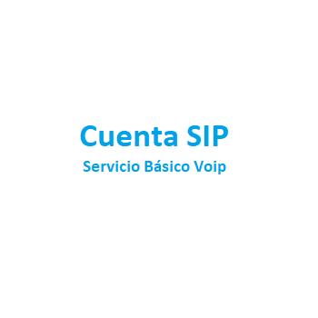 Cuenta SIP Servicio Básico...