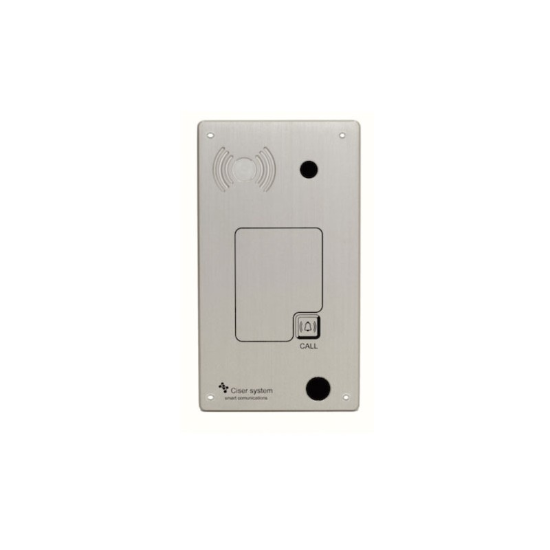 Portero Panphone IP-SIP 4240 Antivandalico Empotrar