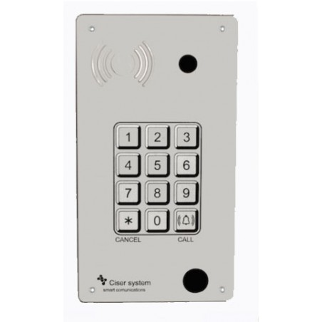Portero Panphone IP-SIP 4231 Antivandalico Superficie