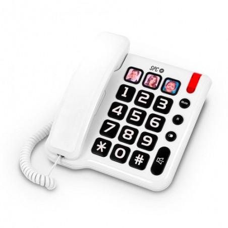 Telefono teclas grandes SPC Telecom 3294 Teclas grandes m/libres.