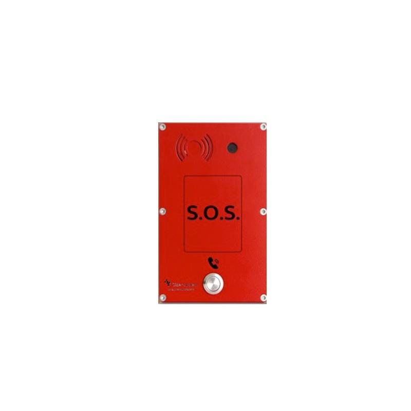 Portero Panphone IP-Serie C Superficie 1 Boton Rojo con camara