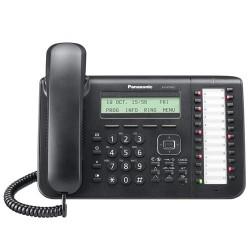 Telefono Panasonic IP propietaro KX-NT543 negro